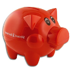 Red-Pig-Money-Box
