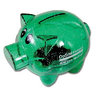 Green-Pig-Money-Box